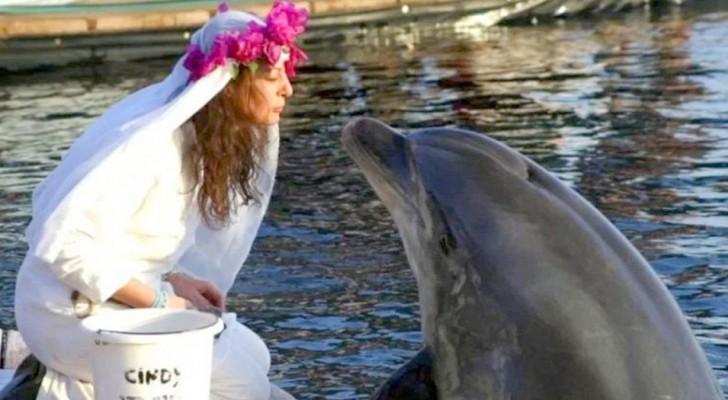 Hon gifter sig med en delfin, men när den dör beslutar hon sig för att hon ska leva som änka resten av livet