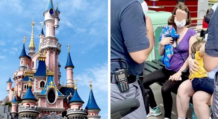 Moeder wordt uit attractiepark gezet omdat ze haar kind de borst gaf op een bankje