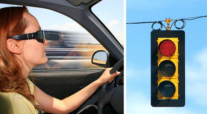 Haar vriend verlaat haar voor een ander: ze pakt zijn auto en rijdt 49 keer door rood licht
