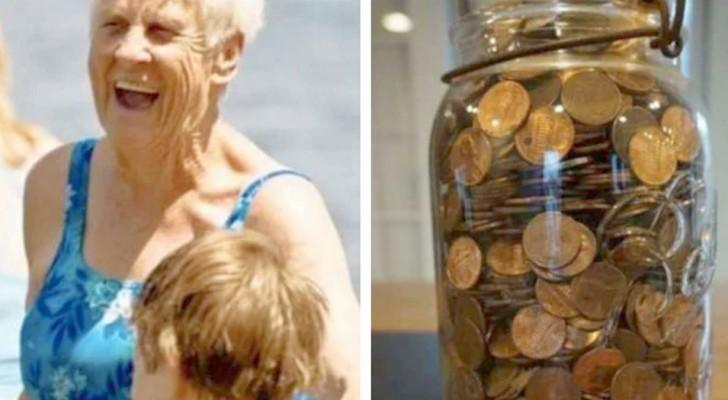 Abuela, cuando llegues al cielo mándame muchos centavos: días después la nieta encuentra monedas escondidas en toda la casa