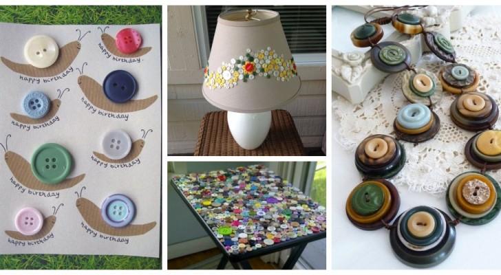 Projets créatifs avec les boutons : découvrez comment les recycler pour donner vie à de délicieuses créations