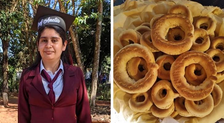 En ensamstående mamma sålde bröd för att kunna betala för sina studier - nu har hon lyckats förverkliga sin dröm om att bli lärare