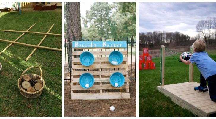 Giochi estivi in giardino: lasciati ispirare da tante idee super-creative