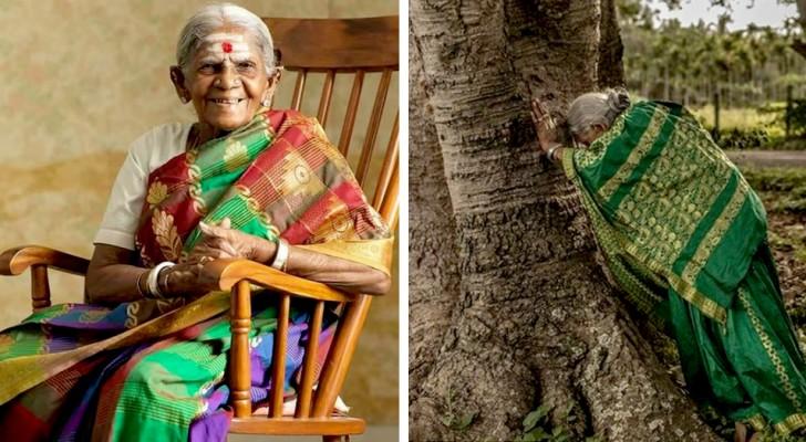 Diese 110-jährige Frau hat beschlossen, über 8.000 Bäume zu pflanzen, um sich von ihrer schweren Vergangenheit zu heilen