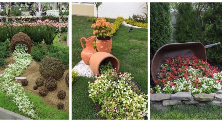 Fiori versati sul suolo: lasciati conquistare da queste decorazioni sempre affascinanti