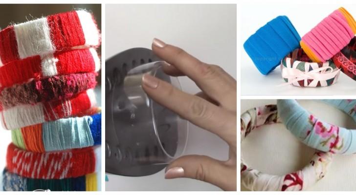 Bracelets colorés et amusants ? Créez-les en recyclant les bouteilles en plastique