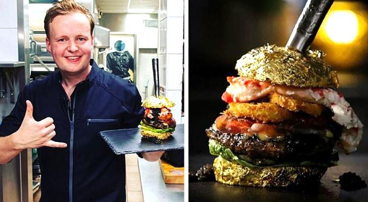 Ein Koch kreiert den teuersten Burger der Welt: mit 4.600 Euro ein echtes Sammlerstück