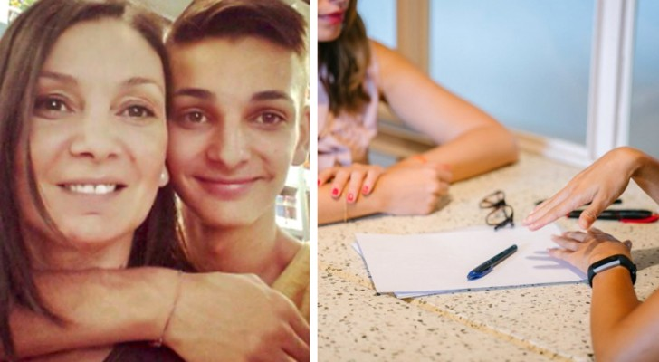 He posts an ad online to help her mother find a job: hundreds of proposals arrive within 48 hours