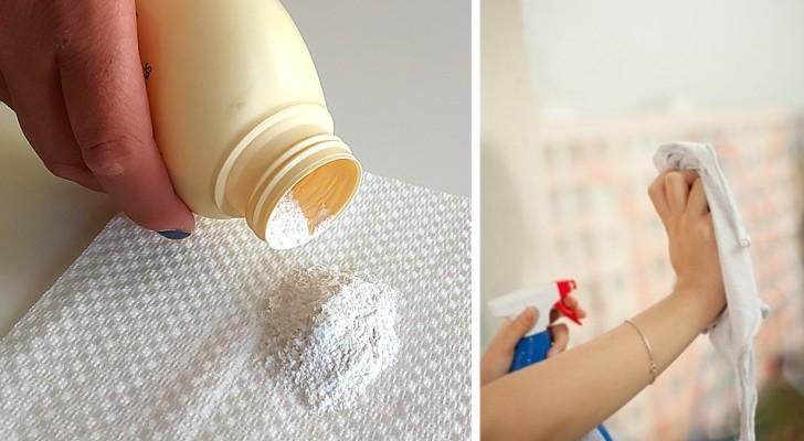 Vetri super-puliti con il trucco del borotalco: scopri come farli splendere in modo facile e veloce