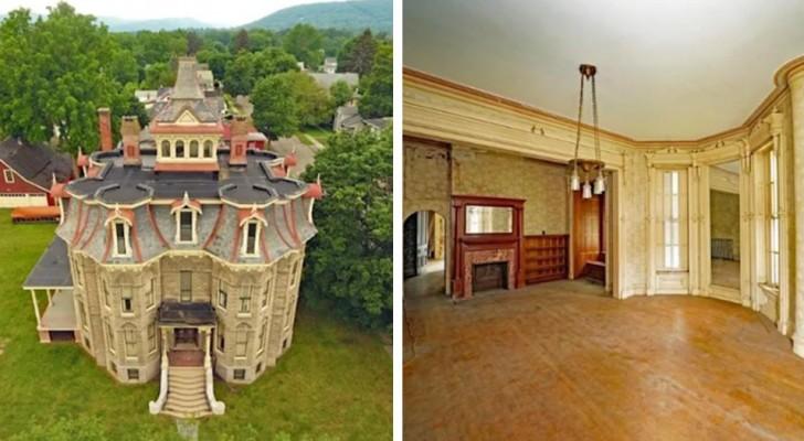 Principesco e affascinante: questo castello con 41 stanze è in vendita per meno di $100.000