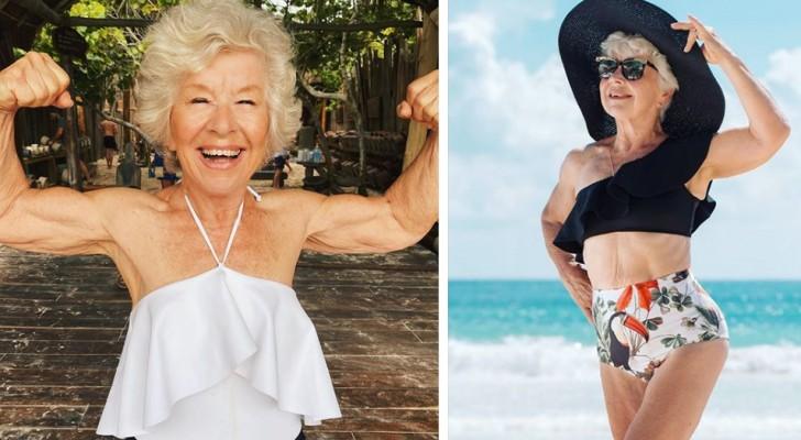 Hoe een vrouw van 74 een bron van inspiratie en motivatie werd voor miljoenen mensen