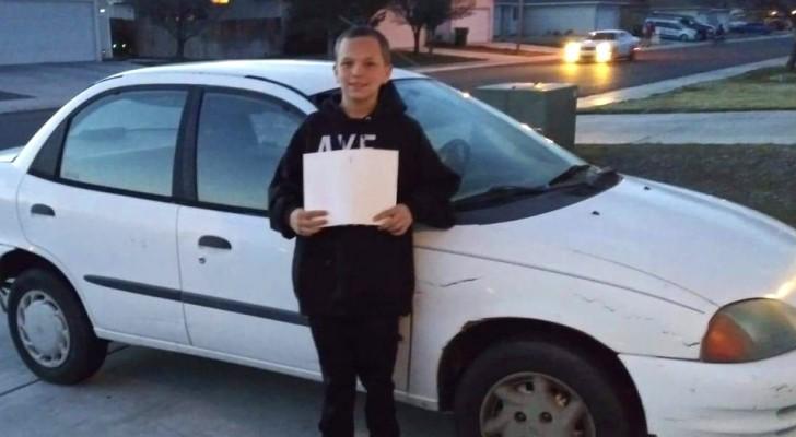 Un garçon de 13 ans échange sa Xbox contre une voiture pour l'offrir à sa mère