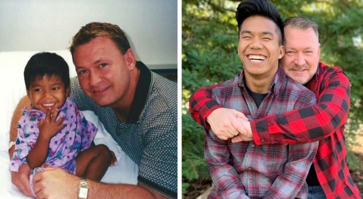 Weeskind werd geadopteerd door een alleenstaande vader: 21 jaar later is hij een atleet die meedoet aan de Olympische Spelen