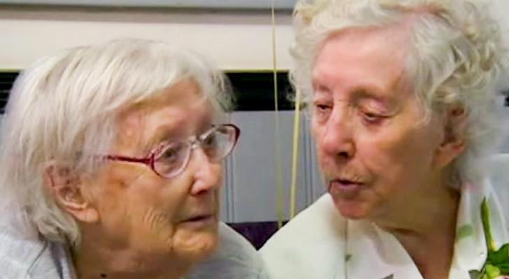 Queste due gemelle hanno compiuto 101 anni: nonostante vivano distanti, si incontrano una volta ogni settimana