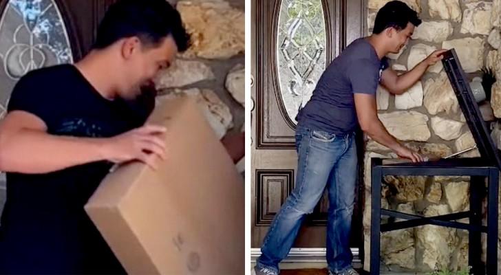 Der einfache und praktische Trick, um zu verhindern, dass Diebe die Pakete vor eurer Haustür stehlen