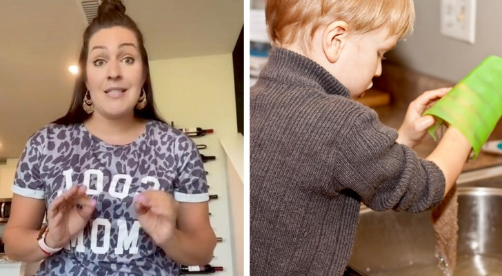 Moeder ligt onder vuur omdat zoon van 7 haar thuis meehelpt en een bijdrage levert aan de vaste lasten