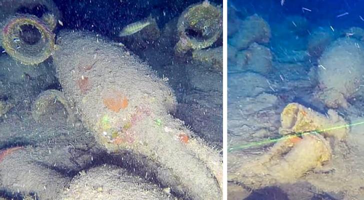 Scoperta una nave romana carica di anfore al largo della Sicilia: ha oltre 2200 anni
