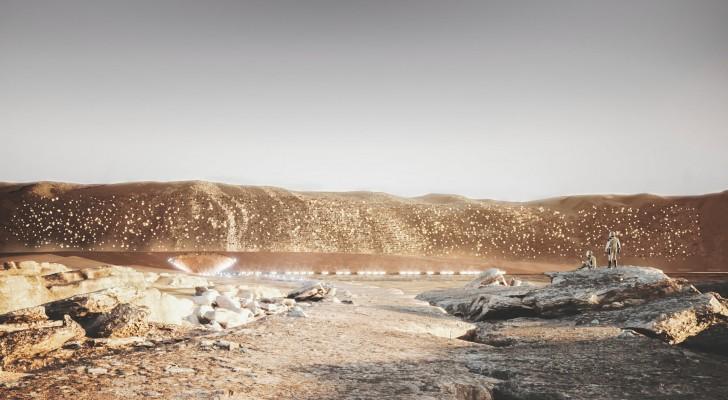Nüwa : la première ville sur Mars sera durable et pourra accueillir 1 million de personnes