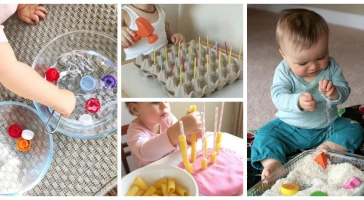 11 giochi e attività creative stimolanti per i bimbi da preparare facilmente a casa