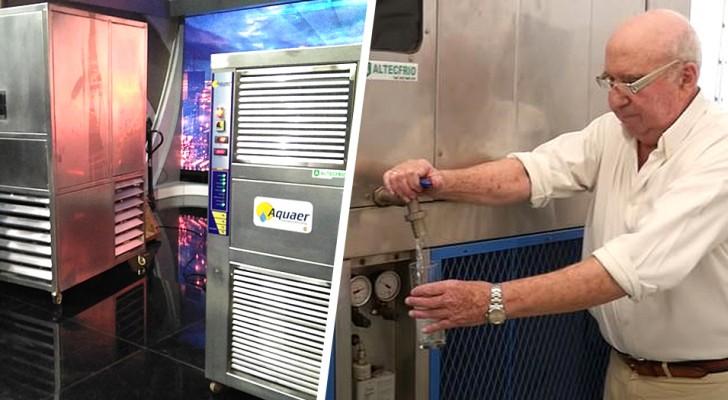 De l'eau à partir de l'air : un ingénieur de 82 ans invente un système pouvant produire jusqu'à 5 000 litres par jour
