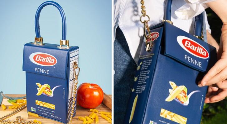 Begrenzte Auflage einer Tasche, die mit den Barilla-Nudelpackungen identisch ist, kommt auf den Markt