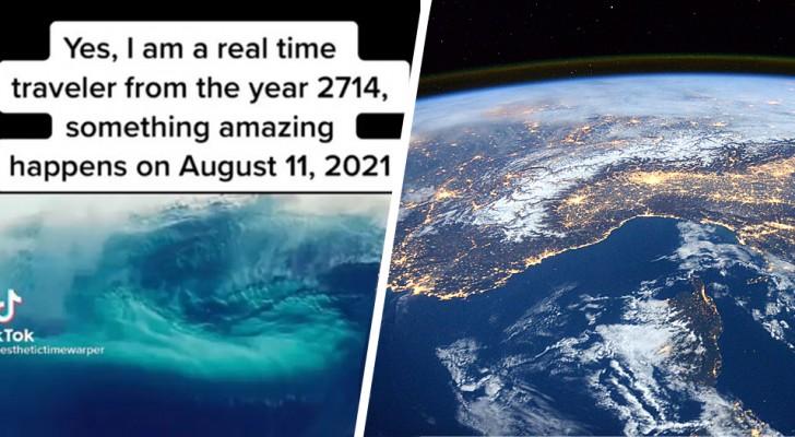 Aliens auf der Erde im August 2021: Die Theorie eines Mannes, der behauptet, durch die Zeit gereist zu sein