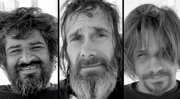 Ze nodigen daklozen uit voor een knipbeurt: hun reactie is onbetaalbaar