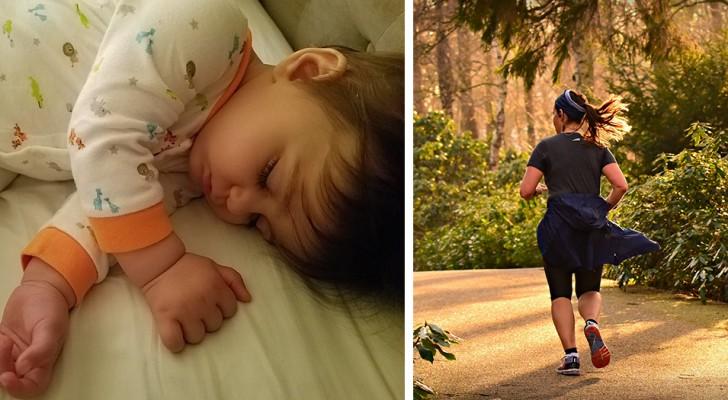 Une mère part courir et laisse son fils dormir seul à la maison, son mari la qualifie d'irresponsable