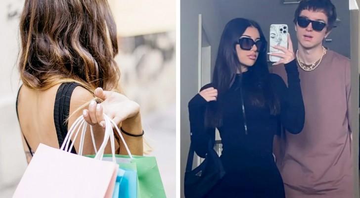 Elle dépense près de 3 000 dollars par semaine pour de nouveaux vêtements parce qu'elle ne veut pas les porter deux fois