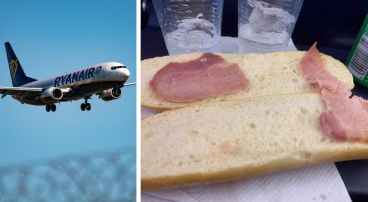 Sur un vol, elle a payé 5,50 euros pour le sandwich le plus triste du monde : l'expérience d'une femme
