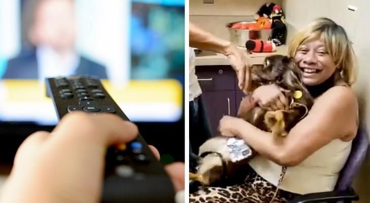Er findet seinen verschwundenen Hund zwei Jahre später dank einer Fernsehsendung wieder: unbändige Freude