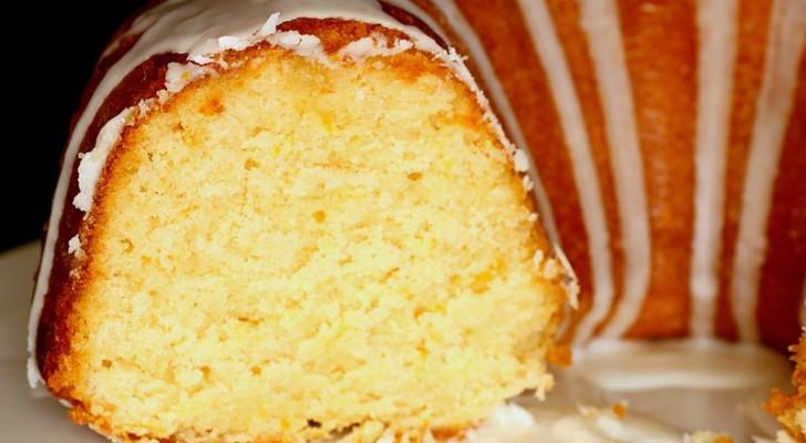 Le gâteau au citron 12 cuillères : facile, savoureux et parfumé, c'est un gâteau à faire et à refaire