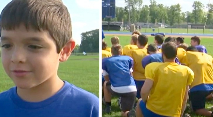 Un ragazzino con disabilità viene preso di mira dai bulli, ma la squadra di football gli risolleva il morale