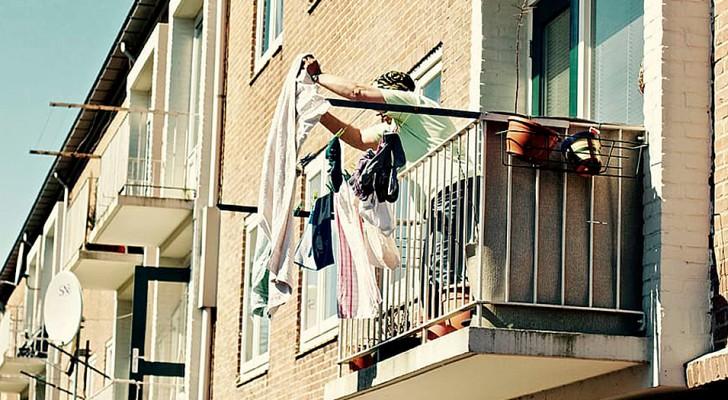 """Ze belt de politie omdat de buurvrouw haar ondergoed buiten ophangt: """"ze wil mijn man verleiden"""""""
