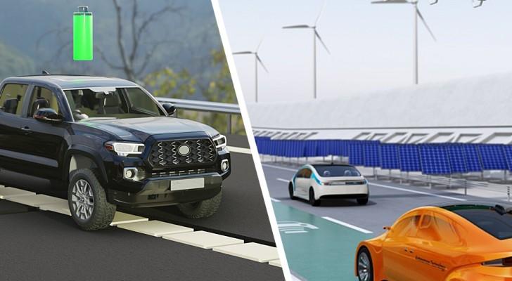 Une entreprise allemande met au point un système permettant de recharger les voitures électriques sans fil en pleine marche