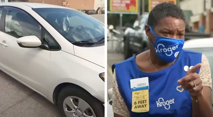 Homeless woman who lived in her car is hired by a shop: now, no one can do without her anymore