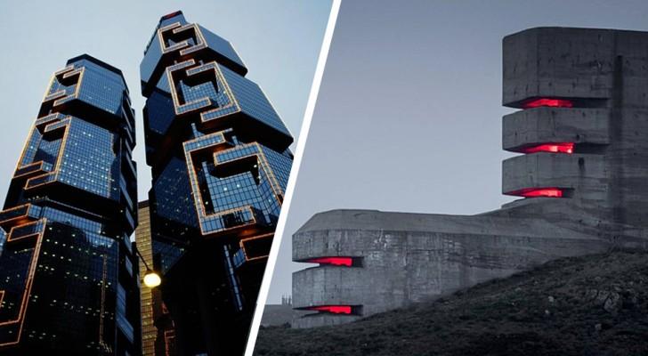 18 gebouwen die zo griezelig zijn dat ze de perfecte holen kunnen zijn voor schurken uit films en strips