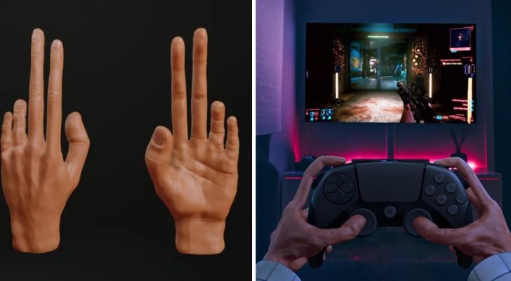 Queste sono le inquietanti sembianze che potrebbero avere le mani dei gamers in futuro