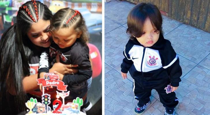 """""""Er sieht aus wie ein Mädchen"""": Eine Mutter ist gezwungen, die langen Haare ihres zweijährigen Sohnes zu verteidigen"""