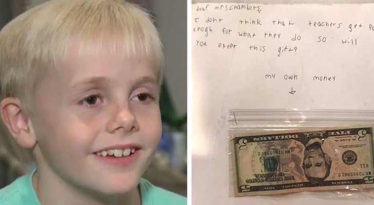 At 9 he wants to give $15 to his teacher: Teachers are not thanked enough for their work