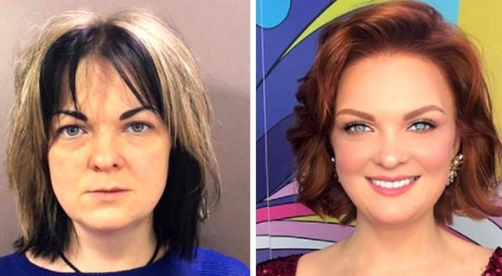 12 femmes transformées en véritables princesses grâce à l'aide de ce maquilleur