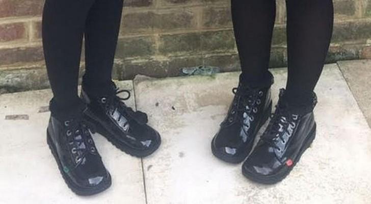 Schule schickt zwei Schüler nach Hause, weil sie unpassende Schuhe tragen: Ausbruch der Mutter