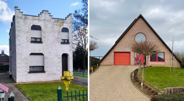 Diese Instagram-Seite zeigt die seltsamsten Häuser in Belgien: 15 Beispiele voller Persönlichkeit