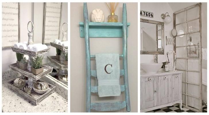 Besoin d'accessoires pour mettre de l'ordre dans votre salle de bain ? Laissez-vous inspirer par ces idées