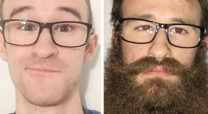 15 foto che dimostrano quanto una barba possa cambiare radicalmente il volto di chi la porta
