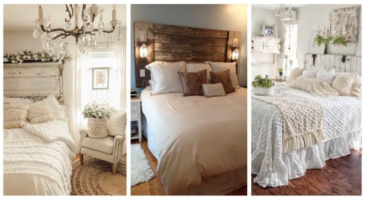 Charme rustique sans temps : laissez-vous inspirer par ces très belles chambres à coucher de style farmhouse