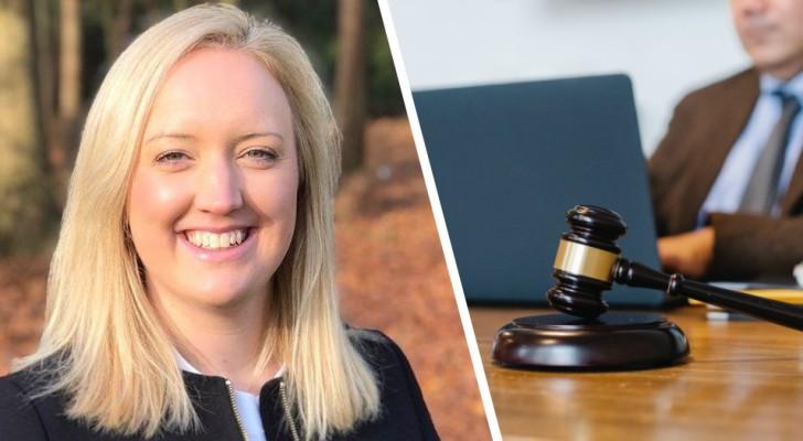 De baas geeft haar geen toestemming om haar dochter van de crèche te halen, zij sleept hem voor de rechter: hij moet haar £180.000 compenseren