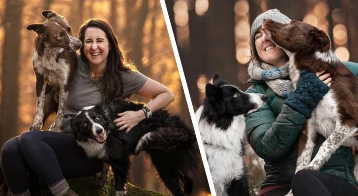Elle découvre que son mari la trompe : elle vend tout et commence à parcourir le monde avec ses chiens