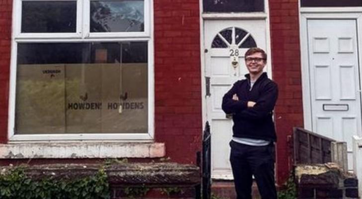 Hij koopt op 19-jarige leeftijd zijn eerste huis en zegt dat alle jongeren het kunnen: het is een kwestie van keuzes maken