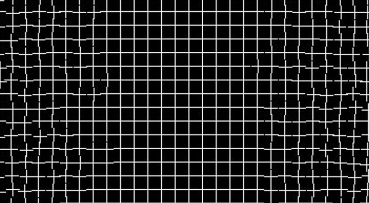 Questa griglia si ripara da sola guardandola attentamente: la curiosa illusione ottica